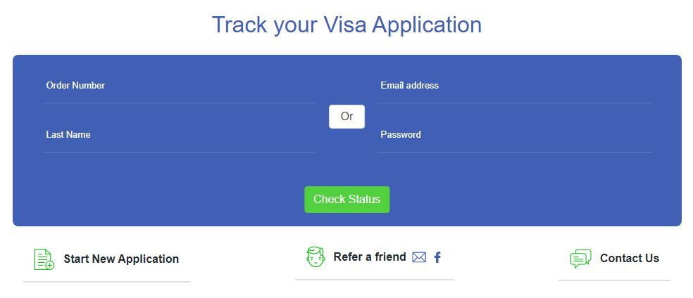 ivisa application status