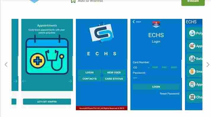 ECHS Status check