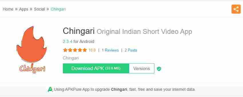 chingari app apk download