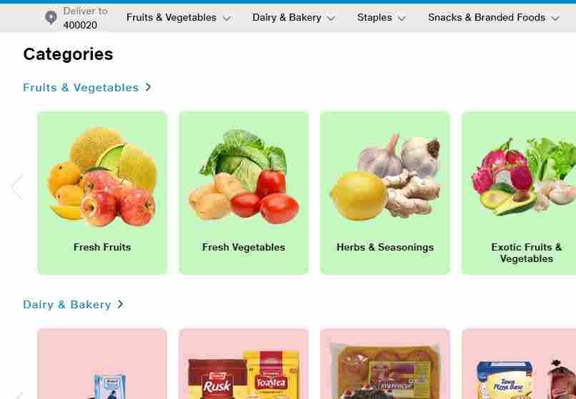 jio mart online shopping step 3