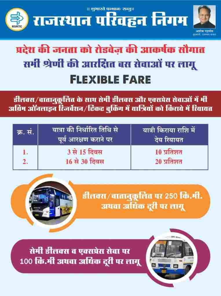 rajasthan rsrtc bus enquiry details