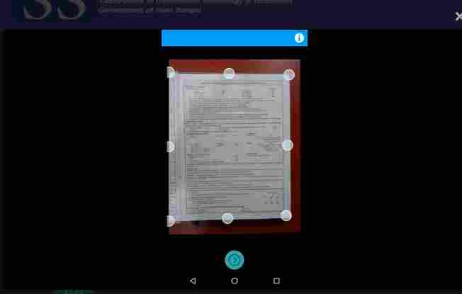 how to scan document using west bengal self scan app