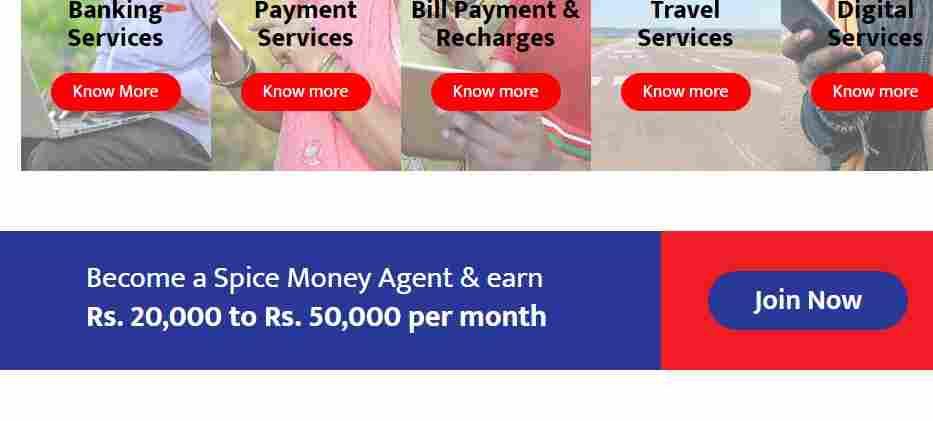 spice money registration online