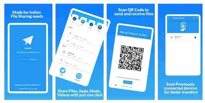 upsend indian file sharing app download