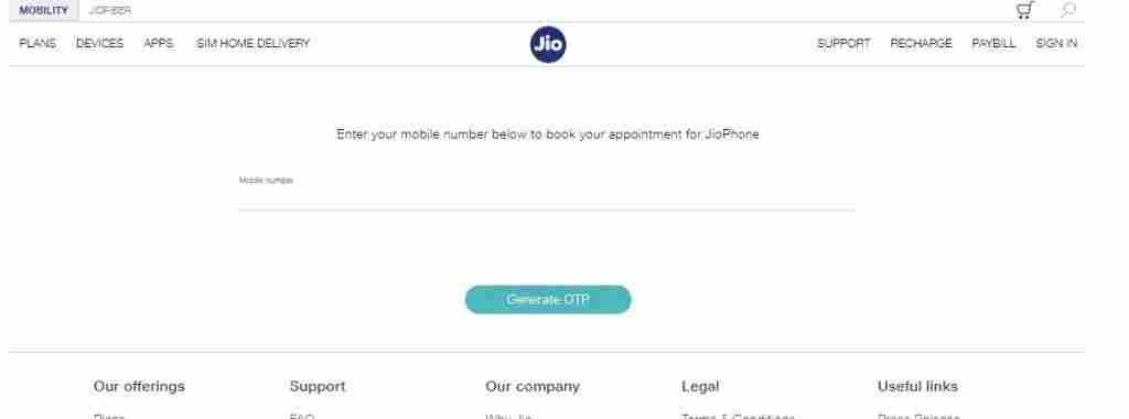 jio phone 3 buy online booking