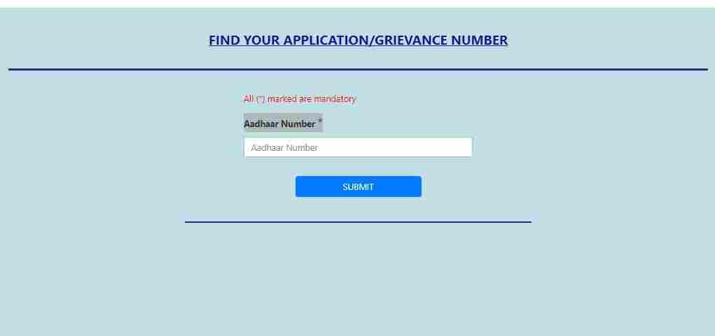 pucc delhi gov in cvfa search find reference number