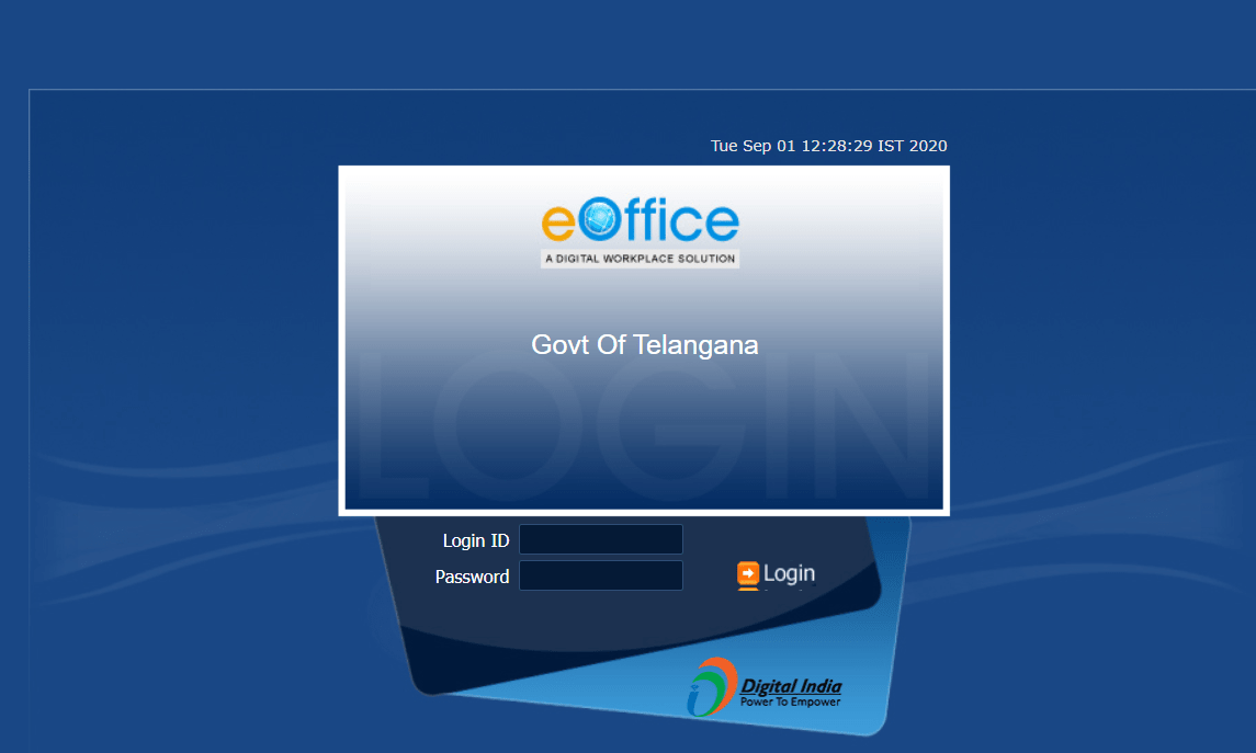 eoffice login